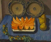 Raymond Rochette - Nature morte au melon